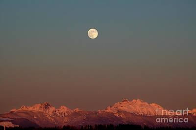 Photograph - Moon by Sylvia Blaauw