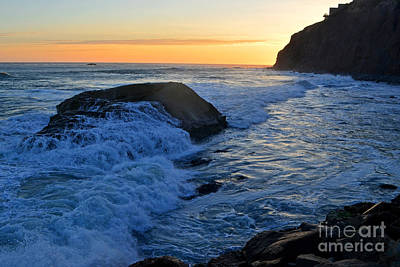 Photograph - Moon Tides In Dana Point by Third Eye Perspectives Photographic Fine Art