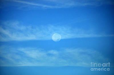 Israeli Flag - Moon veil by Joanne McCurry