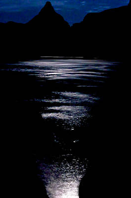 Photograph - Moon Water by Britt Runyon