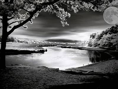 Art Print featuring the photograph Moona Lagoona by Robert McCubbin