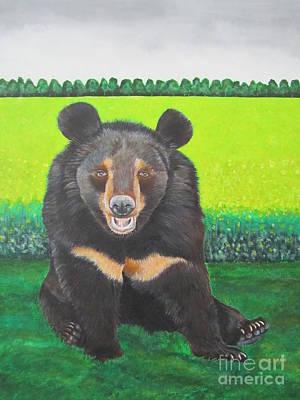 Moonbear Art Print
