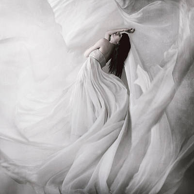 Woman Photograph - Moondance by Anja Matko
