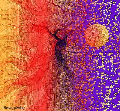 Digital Art - Moondance by Carola Ann-Margret Forsberg