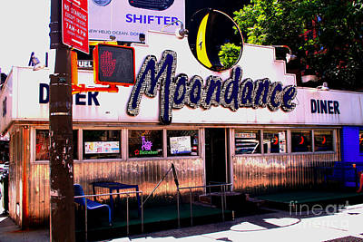 Photograph - Moondance Diner  by Steven Spak