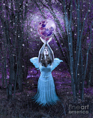 Fairy Photograph - Moondance by Tammy Collins
