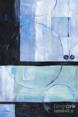 Metallic Painting - Moondust I by Paul Brent