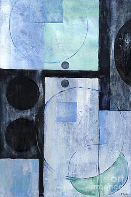 Metallic Painting - Moondust II by Paul Brent