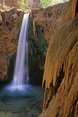 Photograph - Mooney Falls Arizona by Cliff Wassmann
