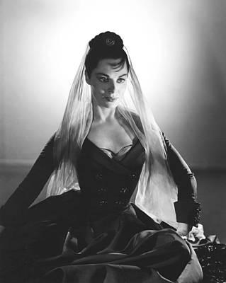 1955 Movies Photograph - Moonfleet, Viveca Lindfors, 1955 by Everett