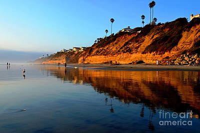 Photograph - Moonlight Cliffs by Third Eye Perspectives Photographic Fine Art