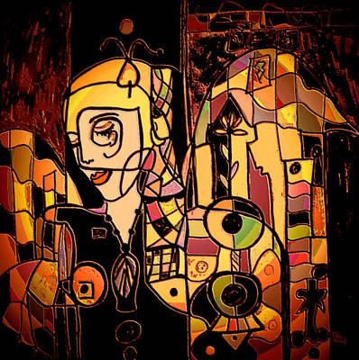 Natalie Holland Art Mixed Media - Moonlight Dreams by Natalie Holland