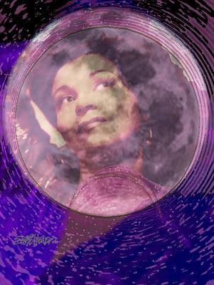 Nightlife Mixed Media - Moonlight Feels Right by Seth Weaver