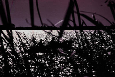 Photograph - Moonlight Fisherman by Christy Usilton