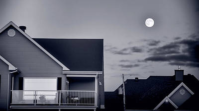 Photograph - Moonlight In Suburbia by Robert Knight