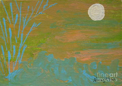 Moonlight In The Wild Art Print
