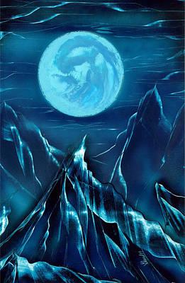 Painting - Moonlight by Jason Girard