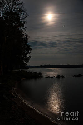 Photograph - Moonlight by Jorgen Norgaard