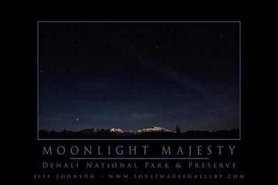 Jeff Johnson Photograph - Moonlight Majesty by Jeff Johnson