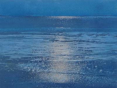 Painting - Moonlight by Mark  Leavitt