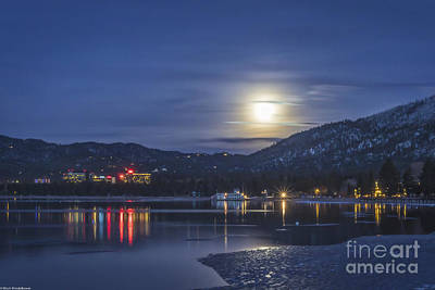 Lake Harris Photograph - Moonlight by Mitch Shindelbower
