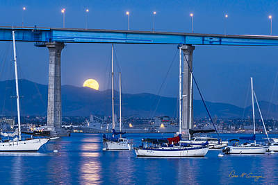 Photograph - Moonlight Mooring by Dan McGeorge