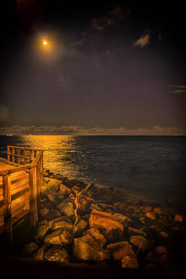 Photograph - Moonlight by Peter Lombard