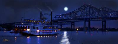 Painting - Moonlight Serenade by Doug Kreuger