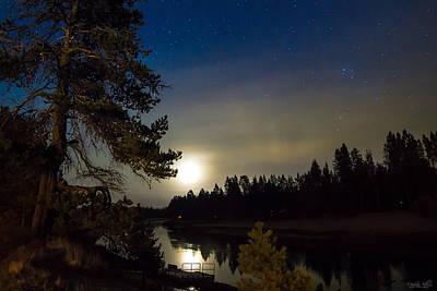 Pacificnorthwest Photograph - Moonlit Dance  by Meghann Davis