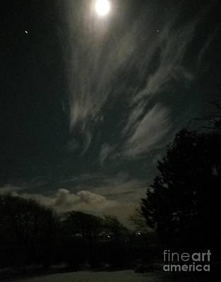 Photograph - Moonlight by Richard Brookes