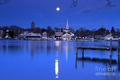 Photograph - Moonrise 1 by Butch Lombardi