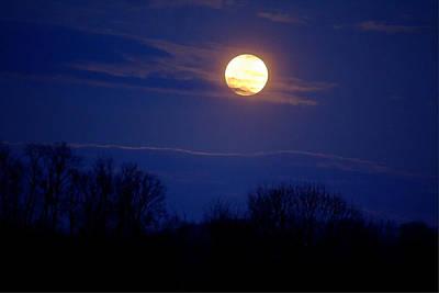 David Jones Photograph - Moonrise by David  Jones