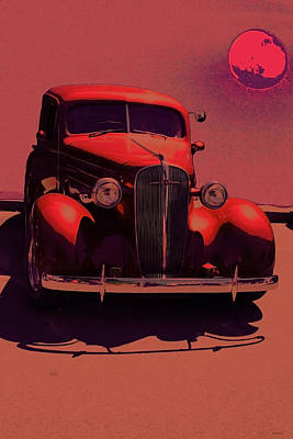 Nostalgia Photograph - Moonrise Graphic by Lesa Fine