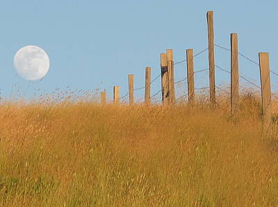Photograph - Moonrise In Big Sur by Derek Dean