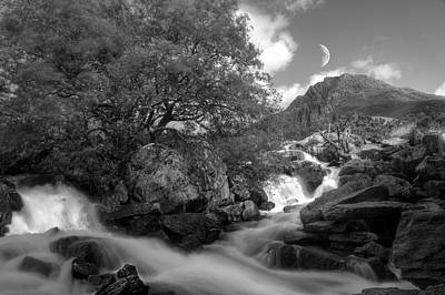 Photograph - Moonrise In Snowdonia by Andrew Munro