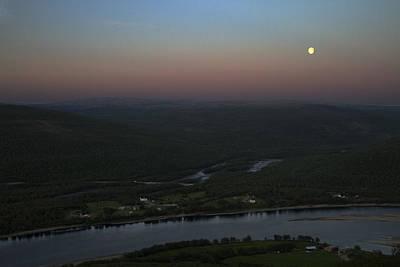 State Love Nancy Ingersoll - Moonrise over Vetsikko by Pekka Sammallahti
