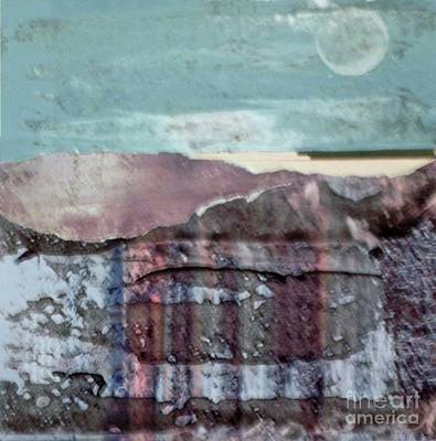 Mixed Media - Moonrise by Patricia  Tierney