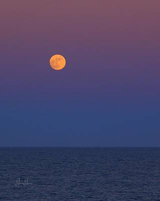 Photograph - Moonrise Serenity by Geri Glavis