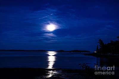 Photograph - Moonscape by Jim McCain