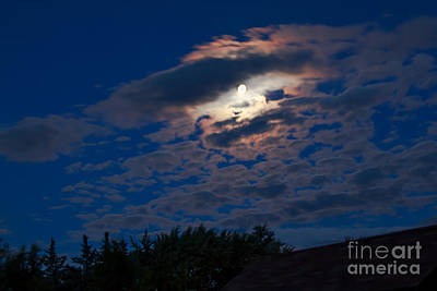 Moonscape Print by Robert Bales