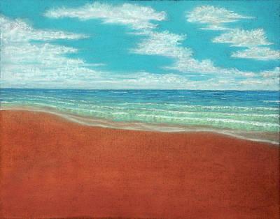 Pastel - Moonset A by Michael Heikkinen