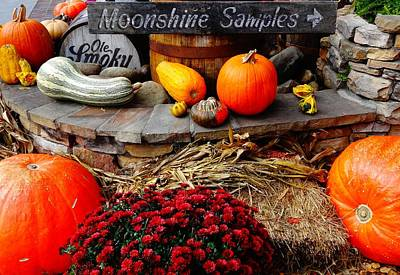 Crock Photograph - Moonshine by Dan Sproul