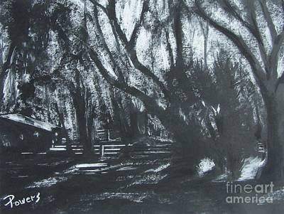 Moonshine Art Print by Mary Lynne Powers
