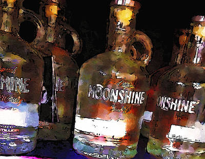 Moonshine Art Print by Robert Smith