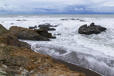 Photograph - Moonstone Beach Surf 3 by Jim Moss