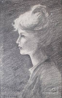 Drawing - Moonstruck by Suzanne McKay