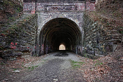 Photograph - Moonville Tunnel by Dale Kincaid