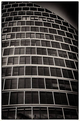 Photograph - Moor House Ec2 Bw by Lenny Carter