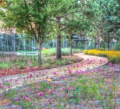 Print featuring the photograph Moore Garden Stroll by Patricia Schaefer