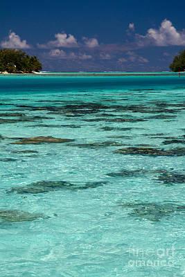Photograph - Moorea Lagoon No 10 by David Smith